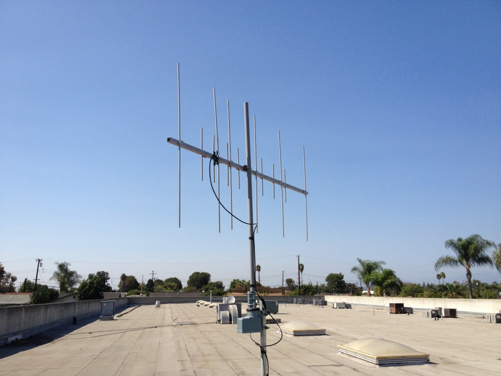 Created a Yagi DualBand 2m/70cm from old TV Antenna | Aaron